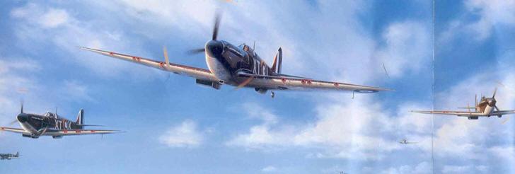 Aerei Da Caccia Americani 2 Guerra Mondiale : Royal air force aerei da caccia supermarine spitfire